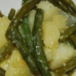 Potatoes with Green Beans and Garlic